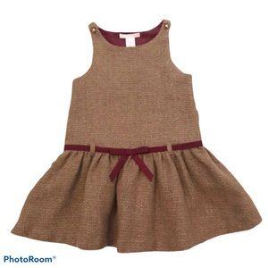 Janie and Jack tweed jumper dress